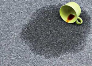 Rак вывести пятна от чая с ковра